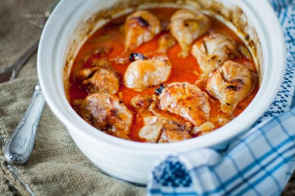 udka z kurczaka w sosie curry z mleczkiem kokosowym