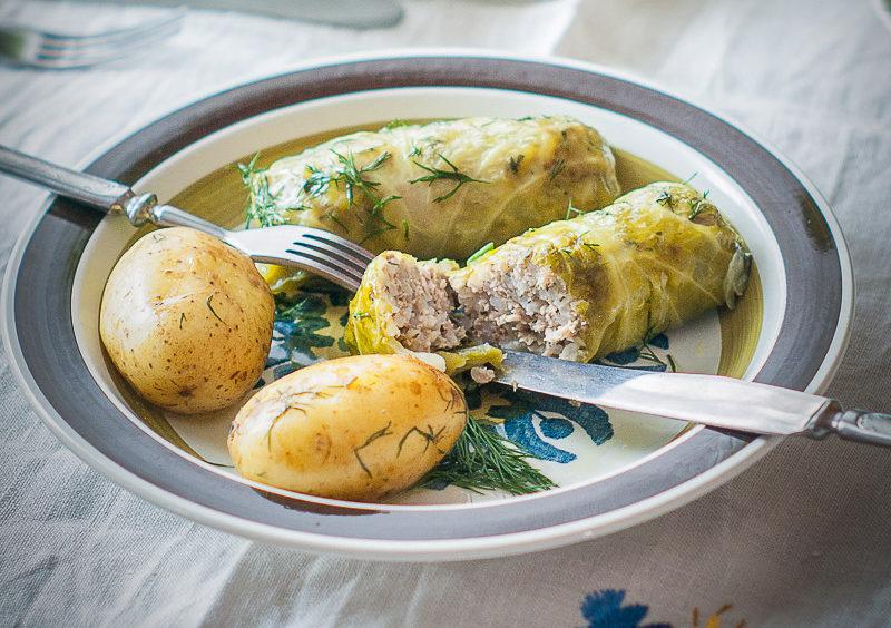 klasyczne gołąbki z mięsem i ryżem przepis