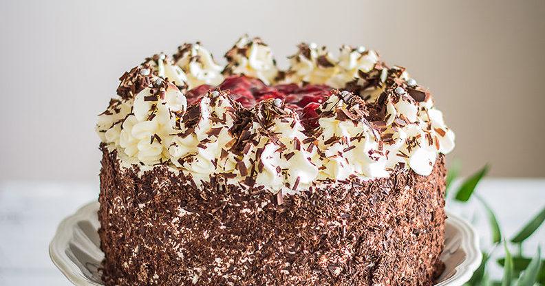 klasyczny tort czarny las