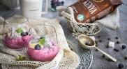 Coffee Pairing – Kenya – Jagodowy mus chia z kremem cytrynowym i kokosową galaretką