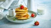 Pancakes na zakwasie – sposób na zużycie nadmiaru zakwasu chlebowego
