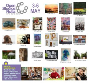 OSNotts Artists Photomontage - 3-6 May