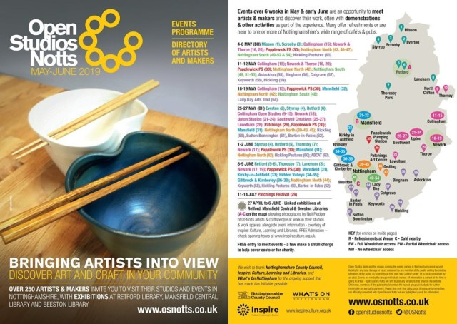 OSNotts 2019 brochure