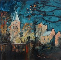 Susan Isaac - 'On the Edge of Day (Southwell Minster)'