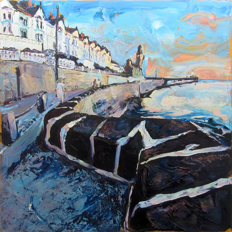 Susan Isaac - 'Towards the Evening Light Porthleven'