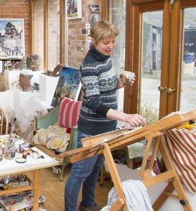 Susan Isaac - Studio