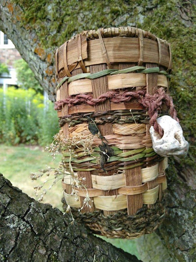 Chris Baxter - Plant fibre basket