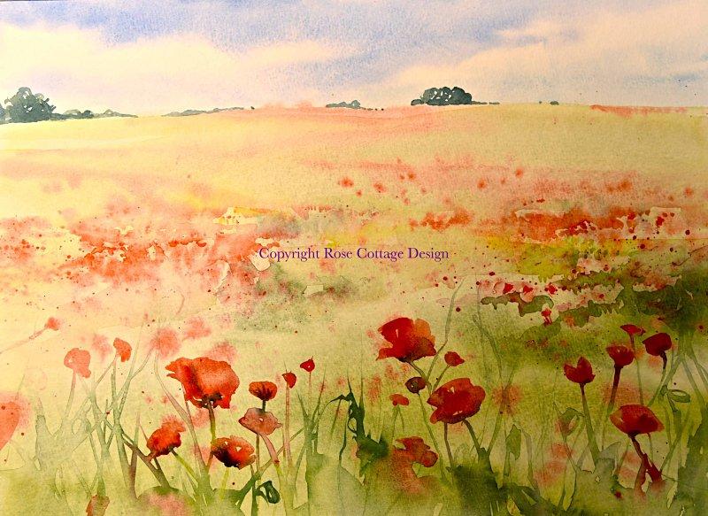 Julie Fowkes, Poppy field-Bradmore - Keyvolution !