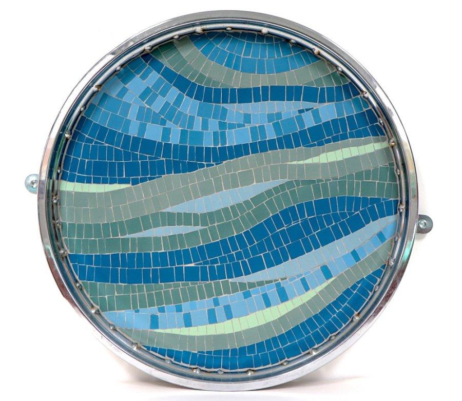 Julie Vernon Mosaics - Reclaimed Wheel