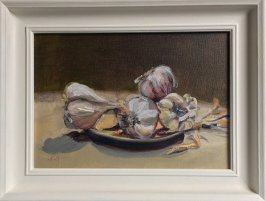 Magestic Elephant Garlic,45x34cm - SARAH NESBITT