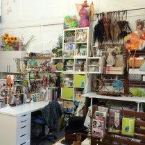 Jess Kemp studio - desk