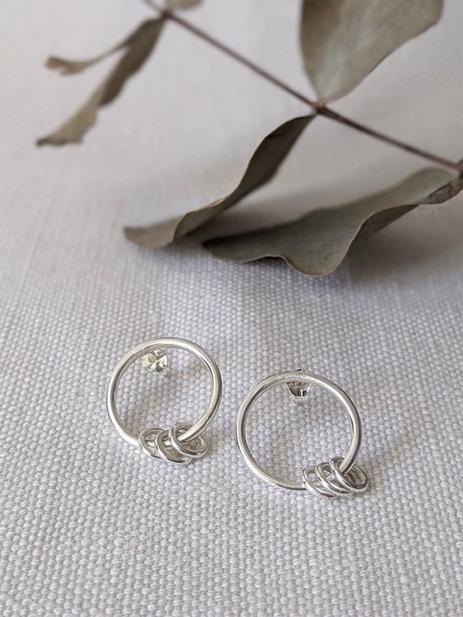 Lianne Hoult - Figure Jewellery - Mini Ring Hoops
