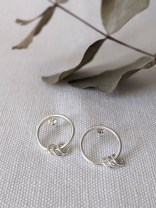 Lianne Hoult - Figure Jewellery - Mini Ring Hoops