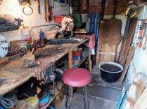 Mark Greene - workshop bench