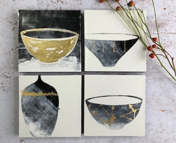 Gill Edwards - Kintsugi Vessels