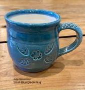 Judy Stevenson - Small blue/green mug