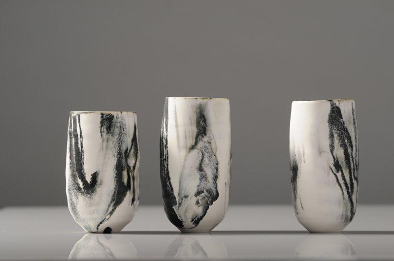 Kyra Cane, Three miniatures. Photo Dave White