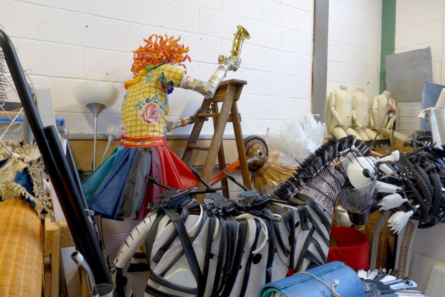 Michelle Reader - studio sculptures