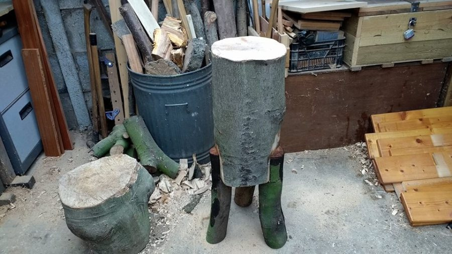 Steve Hunt - chopping block