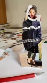 Mandy Bray - studio, collage