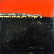 Corrina Rothwell, 'History In The Making', acrylic and mixed media on panel, 30x30, £270