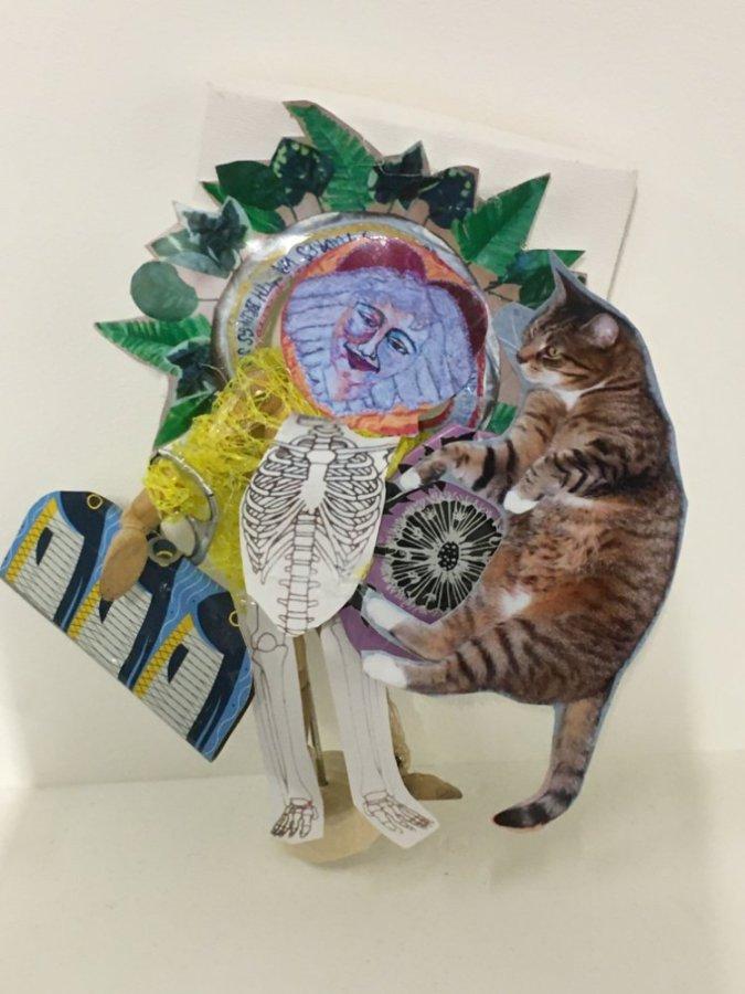 Gerry Henegan Barr - 'Cat Collage'