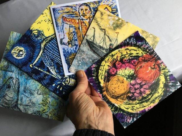 Paul Henegan - 'Card Designs From Prints'