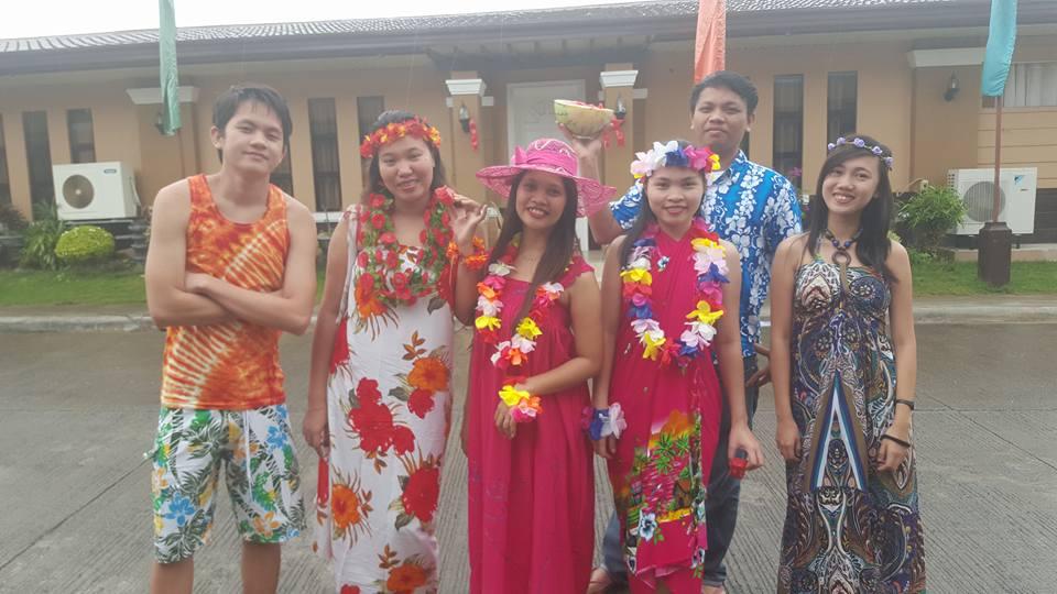 Osomnimedia Christmas Party Part 1 Hawaiian Costume