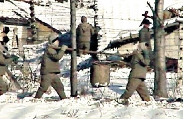 Camp 22 North Korea