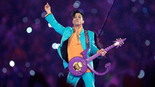 "Prince performed at the 2007 Superbowl and amazingly it started raining as he played his hit, ""Purple Rain"""