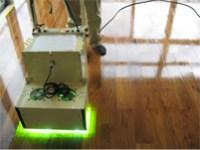 作業順序、UV自走式照射器