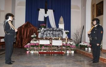 Adoracja przy Grobie Pańskim