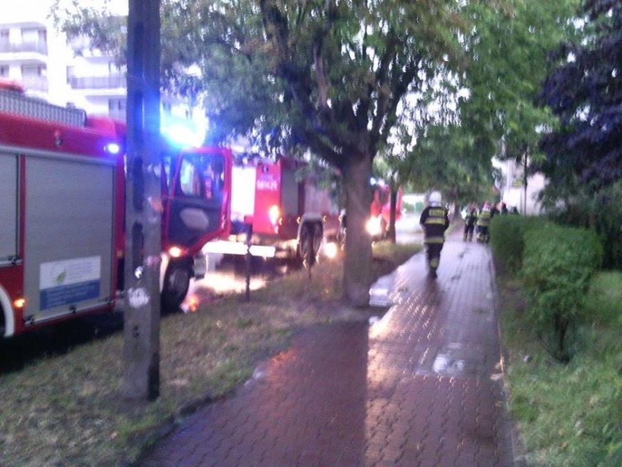 Pożar mieszkania