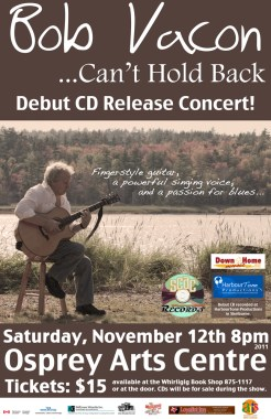 Bob Vacon CD Release
