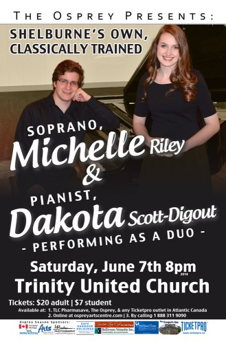 Michelle Riley & Dakota Scott-Digout