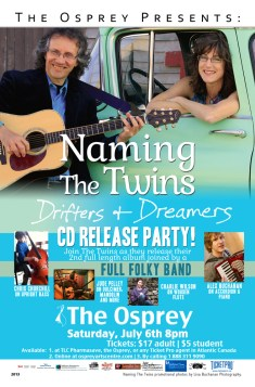 Naming The Twins CD Release