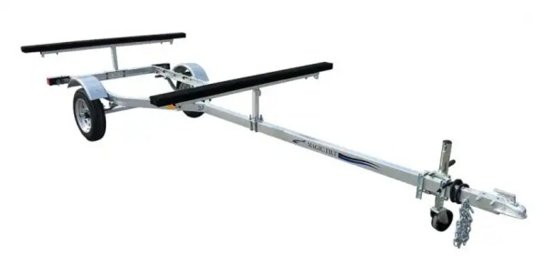Magic Tilt Trailer Double Kayak 2