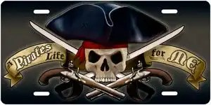 Pirates Life for Me License Pla