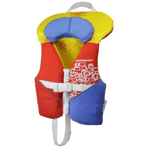 infant and child pfd stohlquist orange yellow