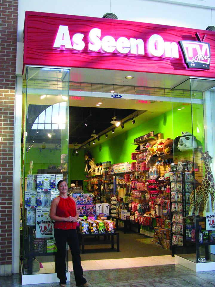 ec683128b7973 Sandra McCreery is the owner of the As Seen on T.V. Store at the Westfield  Brandon