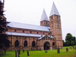 Southwell Minster in Southwell.