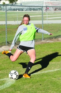 Newsome Girls Soccer February 2014