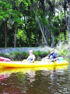 Canoe Outpost Wayne and Jane
