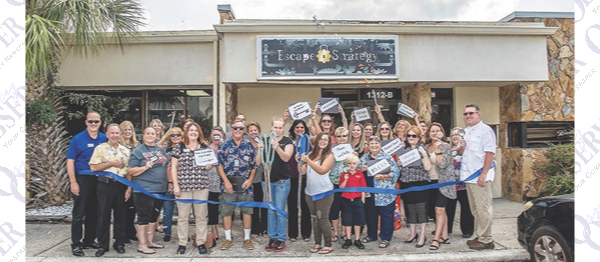 Chamber Ribbon Cuttings Include New Escape Room Theme ...