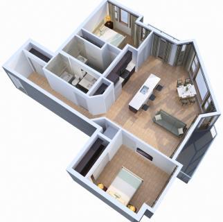 2 Bed / 2 Bath / 1,089 sq ft / Starting At: $1,805