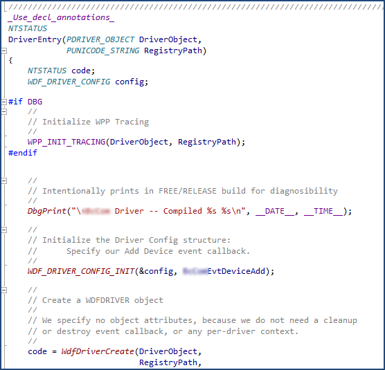 Turning DbgPrint Statements into WPP Tracing – OSR