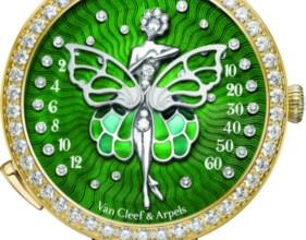 Photo of ساعة لايدي آربلز باليرين آنشانتيه دوريان Van Cleef & Arels