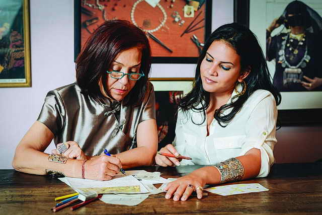 مصممة المجوهرات العالمية عزة فهمي في مجموعتها الجديدة