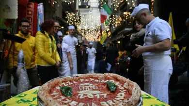 Photo of بيتزا نابولي ضمن التراث العالمي