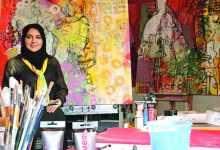 Photo of الفنانة التشكيلية سمر بدر: كلما كان الفنان صادقاً في التعبير تميز عمله